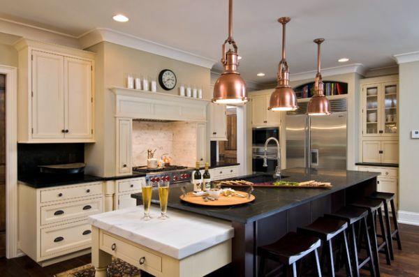 55 Beautiful cool pendant lights in the kitchen - chic designer lighting