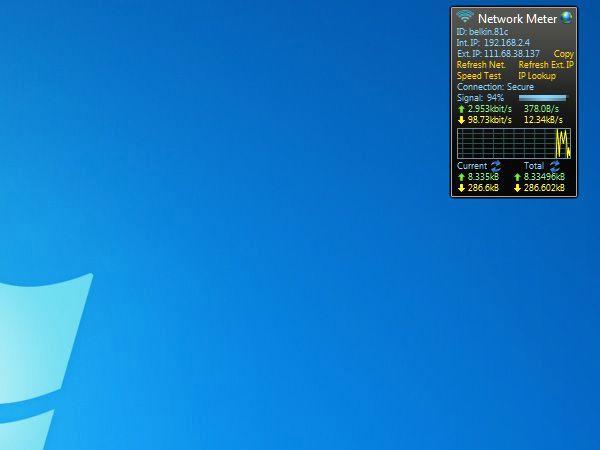 Useful free gadgets Windows 7 Desktop