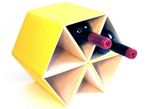 DIY - Do it yourself - Craft ideas, as you could easily build a wine rack