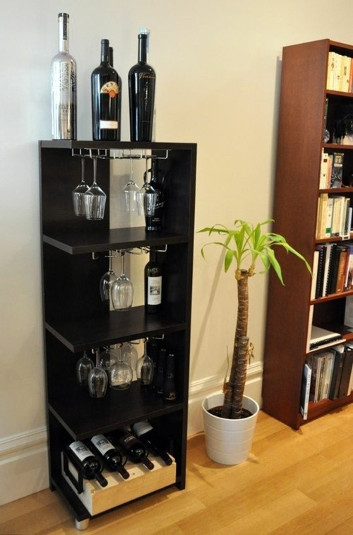 Craft ideas, as you could easily build a wine rack