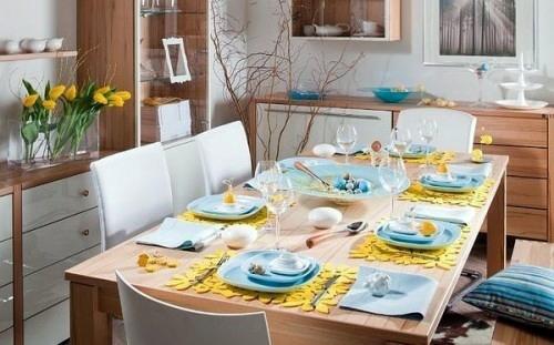 DIY Deko - Atmospheric create table decoration for Easter