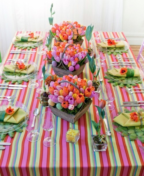 Ostern - Atmospheric create table decoration for Easter