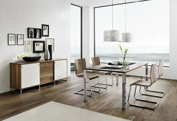 Esszimmer - Modern furnishings in the dining room