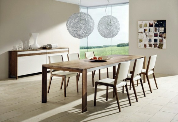 Wohnideen - Modern furnishings in the dining room