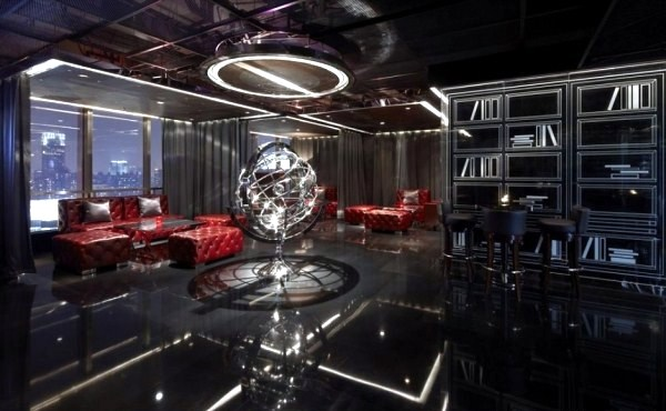 The Ultra Modern Bar Design In Shanghai Interior Design