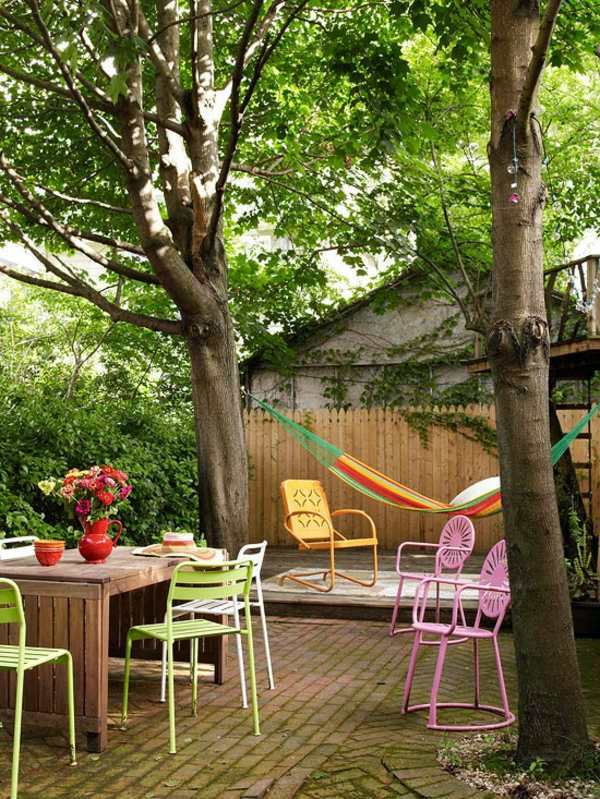 23 colorful outdoor decoration ideas in your garden