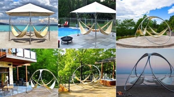 Gartenmöbel - Garden hanging chairs and hammocks by Trinity Hammocks