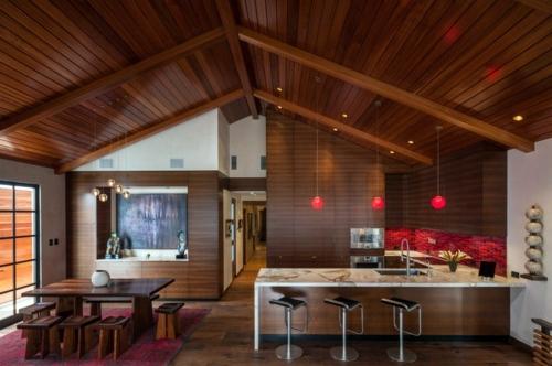 Küchen - 15 gorgeous kitchen ideas for red kitchen back wall
