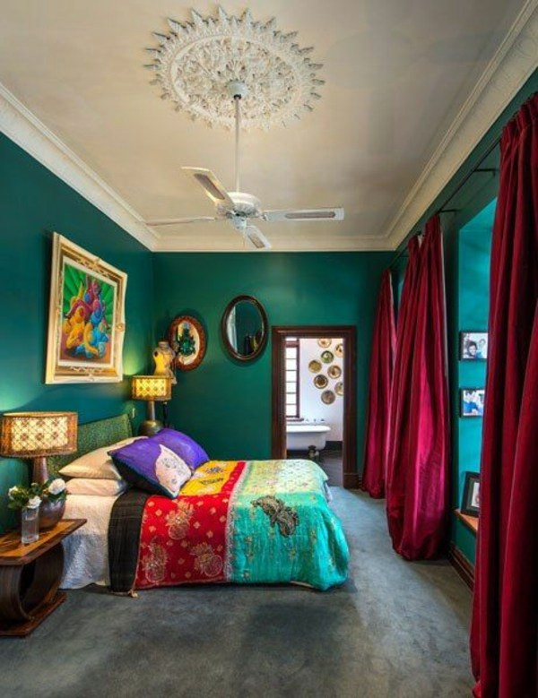 Green Wall Color Can Be Reached By A Trendy Decor Interior Design Ideas Avso Org