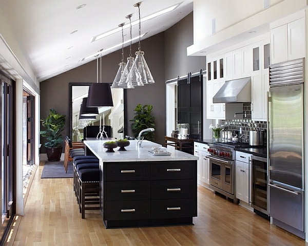 Einrichtungsideen - 50 ideas for kitchen equipment and kitchen furniture with a modern character