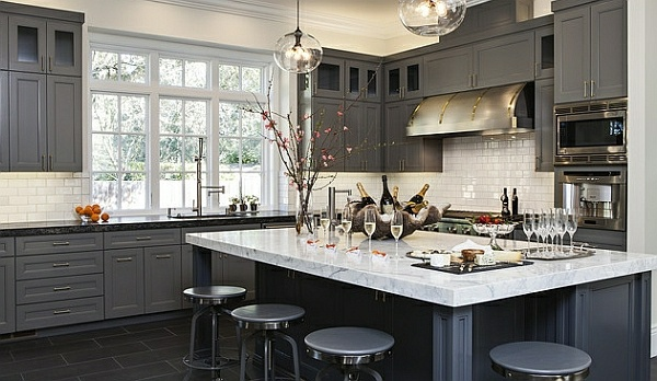 Küche - 50 ideas for kitchen equipment and kitchen furniture with a modern character