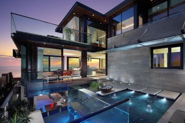 Architektur - Beach residence in California offers relaxing atmosphere and attractive open spaces