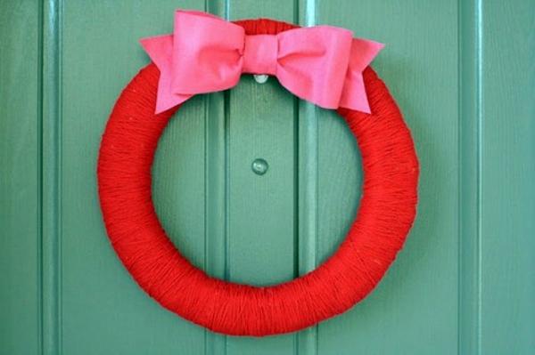 Dekoration - Tinker 10 Cool Valentine's Day wreaths itself
