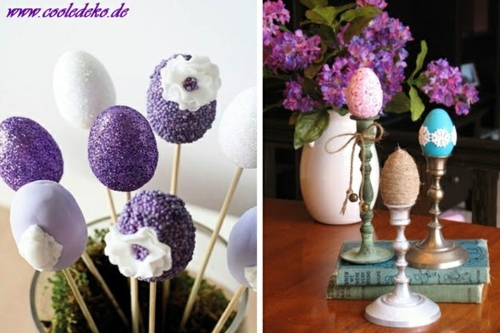 Bastelideen - Easter Decor and Ornaments crafts for Easter - 22 combinations for you