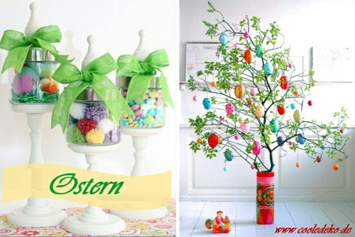 Osterdeko basteln - Easter Decor and Ornaments crafts for Easter - 22 combinations for you