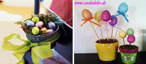 Ostern - Easter Decor and Ornaments crafts for Easter - 22 combinations for you