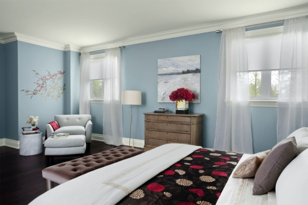 Powder Blue Wall Paint Water Colored Interior