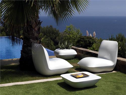 Außenmöbel - Bright outdoor furniture of Vondom - Designer cushions
