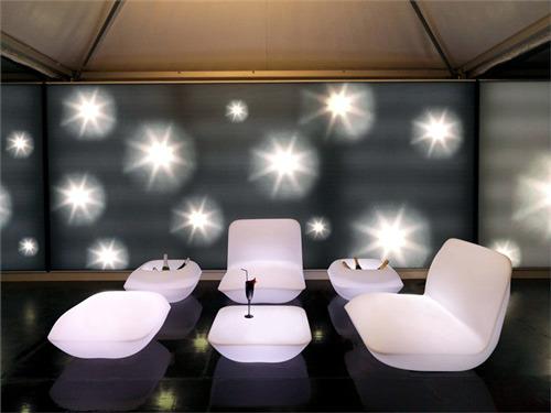 Bright outdoor furniture of Vondom - Designer cushions