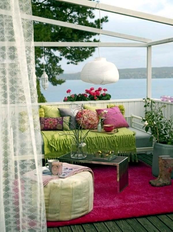 Adorable Boho Chic Terrace Designs Interior Design Ideas Avso Org