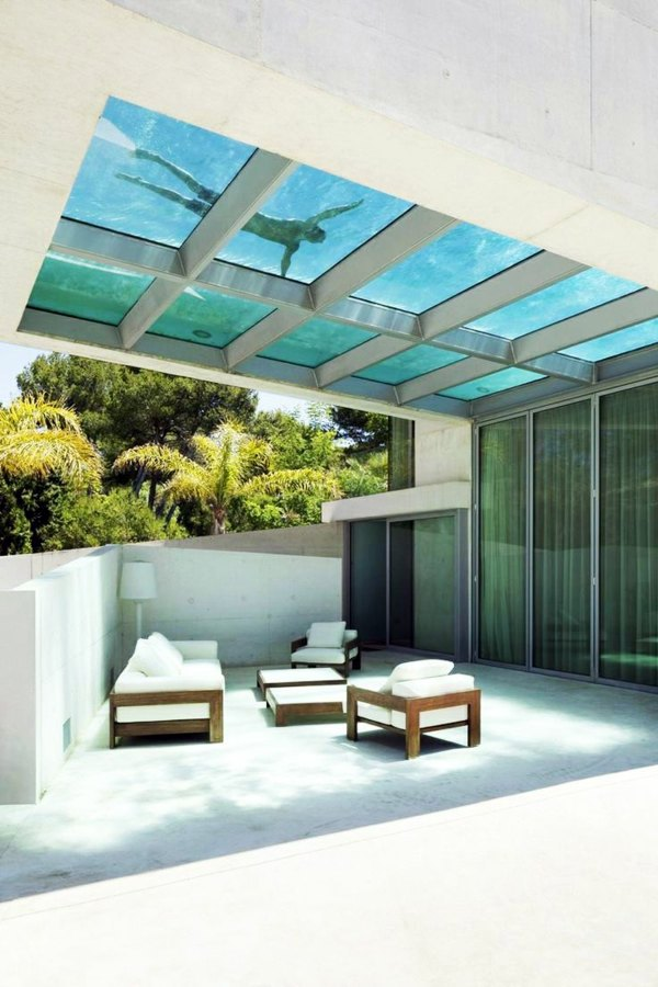 Rattanmöbel - Terrace design examples - you draw inspiration and design a wellness oasis on your patio