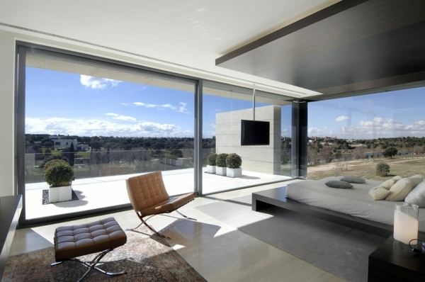 Moderne Architektur - Panoramic windows in interior design: For or against
