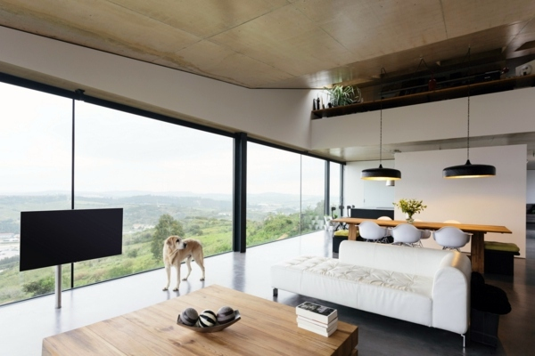 Wohnideen - Panoramic windows in interior design: For or against