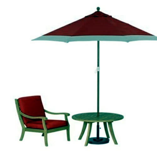 Gartenmöbel Set - Fresh beautiful garden deco ideas from Canada - festive atmosphere outdoors
