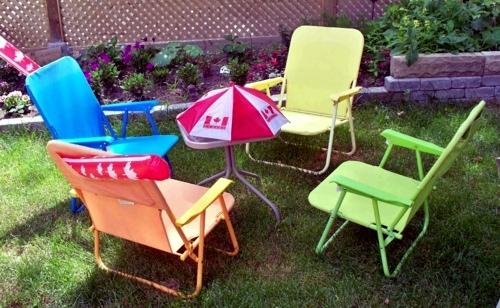 Fresh beautiful garden deco ideas from Canada - festive atmosphere outdoors