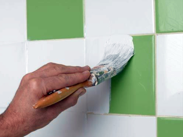 Fliesen - Tile paint and tile colors