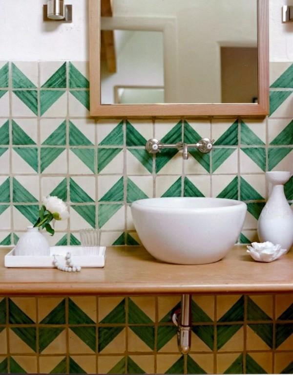 Wanddeko - Tile paint and tile colors