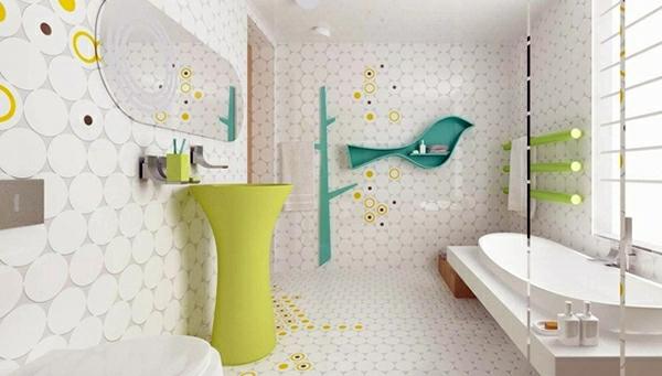 Badezimmer - 10 wonderful decorating ideas for your dream bathroom