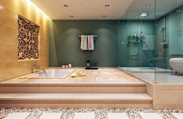 10 wonderful decorating ideas for your dream bathroom