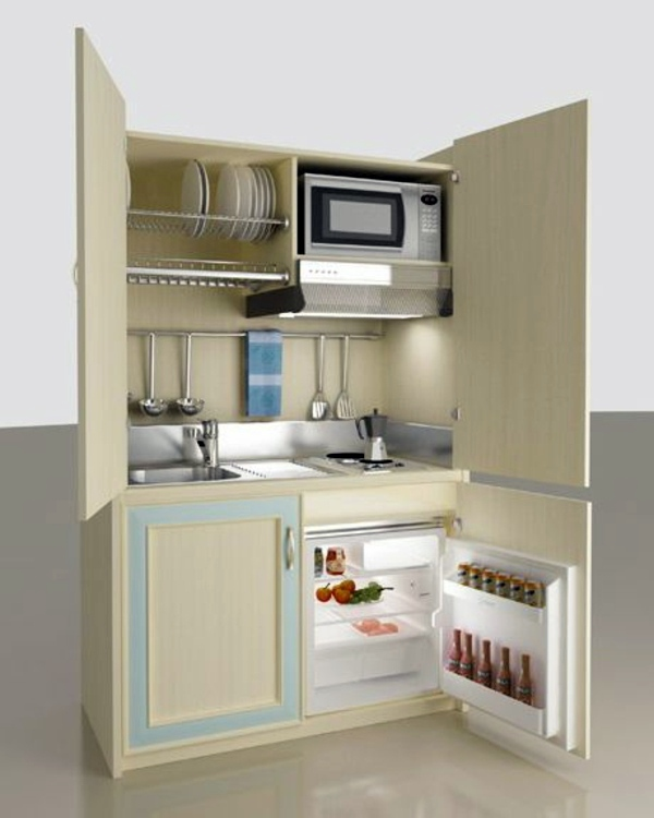 Microwave Stand Ideas Small Kitchens Storage