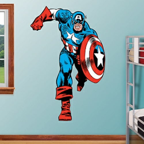 Wanddeko - Superheroes Decoration - 20 of the most popular cartoon characters of all time