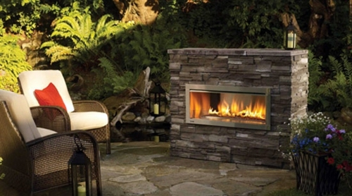 Modern cool garden decoration ideas - the party continues after sunset