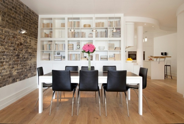 Möbel - Bookshelves wood - inspiring ideas for a great home library