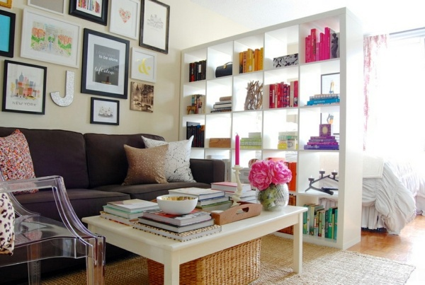 Regale - Bookshelves wood - inspiring ideas for a great home library