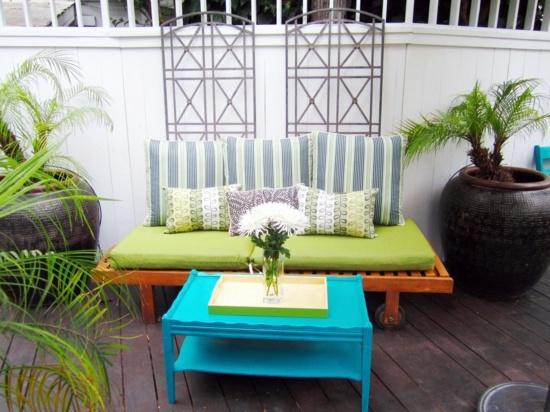 Dekoration - Garden Decoration Ideas - modern, rustic backyard design