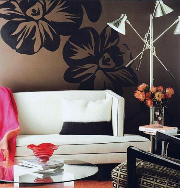 Шоколадный цвет в интерьере дома очень ценится.