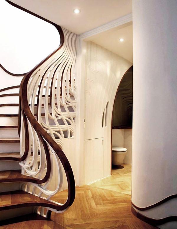 Unique And Creative Design Ideas For Stairs Interior Design