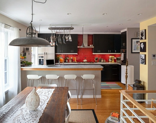 Gorgeous Interior Design Ideas In Red Black White Avso Org