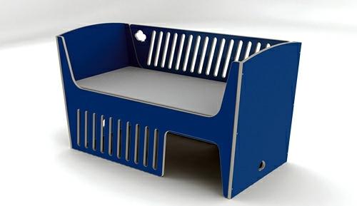 Kinderbett - Baby Room Furniture - comfortable cot from Jall & Tofta