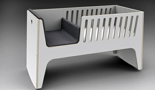 Baby Room Furniture - comfortable cot from Jall & Tofta
