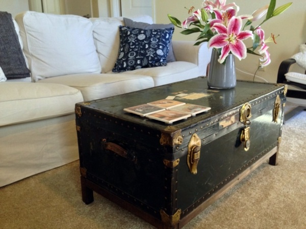 Couchtisch - Build coffee table itself - DIY ideas for crafters