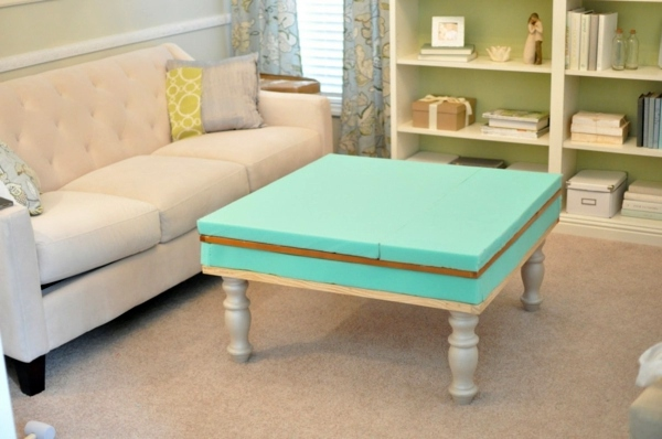 Build coffee table itself - DIY ideas for crafters