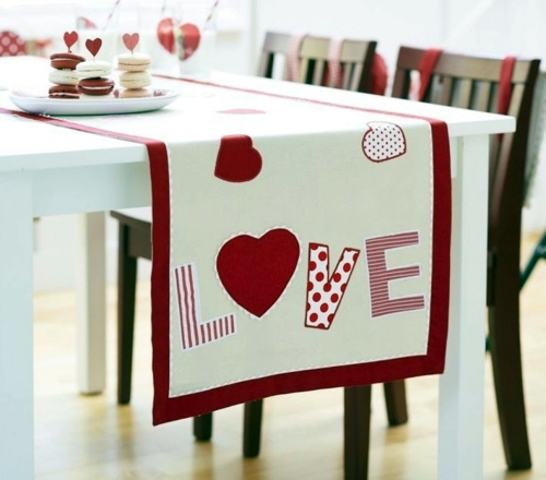 DIY Deko - DIY decorating ideas for Valentine's Day