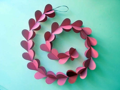 DIY decorating ideas for Valentine's Day