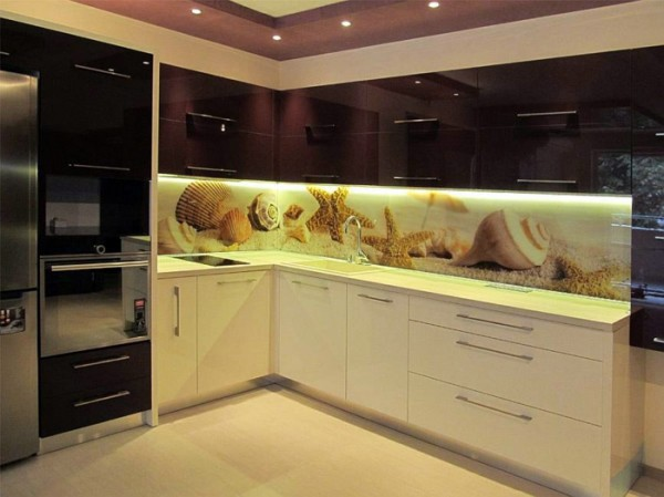 35 kitchen splashbacks glass - luxurious splash for the kitchen