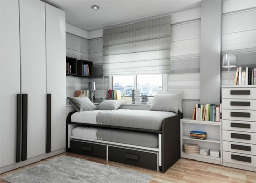 Schlafzimmer - Small bedroom Arrange - Mission reachable!